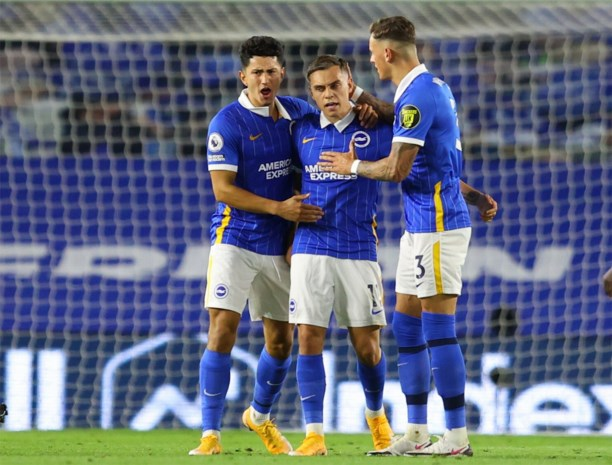 Knap doelpunt van Trossard helpt Brighton niet tegen Chelsea