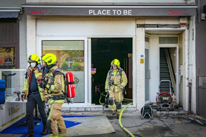 Café uitgebrand tegenover station Leopoldsburg, kwaad opzet niet uitgesloten