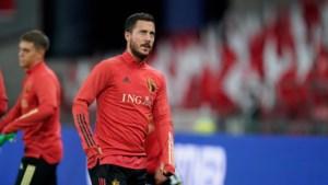Hazard mist eerste match met Real
