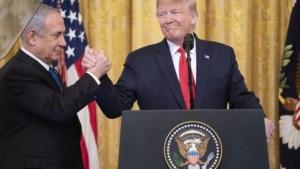 """President Trump: """"Palestijnen zullen wel toetreden tot vredesdeal, anders blijven ze in de kou staan"""""""