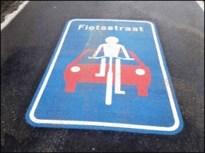 Boetes voor bestuurders die fietsers inhalen in fietsstraat
