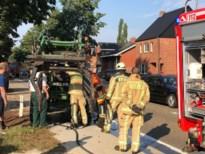 Tractorbrand zorgt voor verkeershinder op Lummenseweg