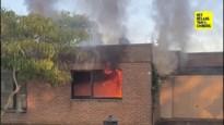 Buren redden bewoonster uit brandend huis in Eisden