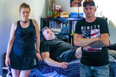 """Ook Michel (45) viel in Beringse werfput: """"Weet niet of ik ooit nog durf fietsen"""""""