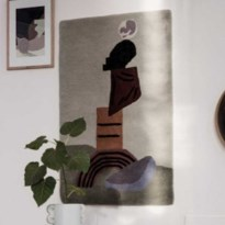 TREND. Textiel als kunst aan de muur