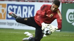 Martinez verrast: Casteels debuteert, Mignolet op de bank
