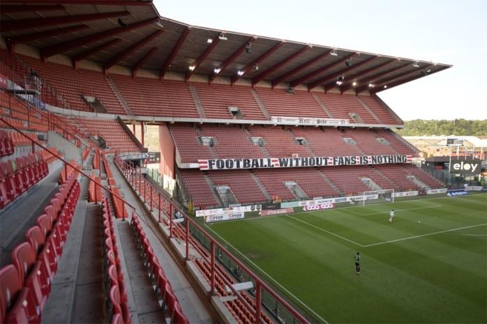 Geen 10.000, maar 7500 fans bij Standard