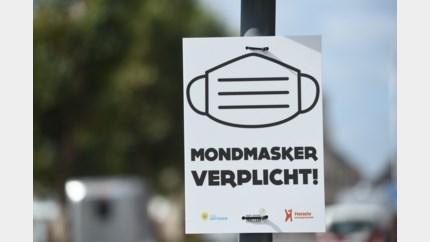 Politie maakt ruim 20 pv's op voor het niet dragen van mondmaskers in Hasselt centrum