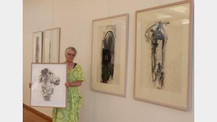Expo tekeningen en etsen Irmine Remue