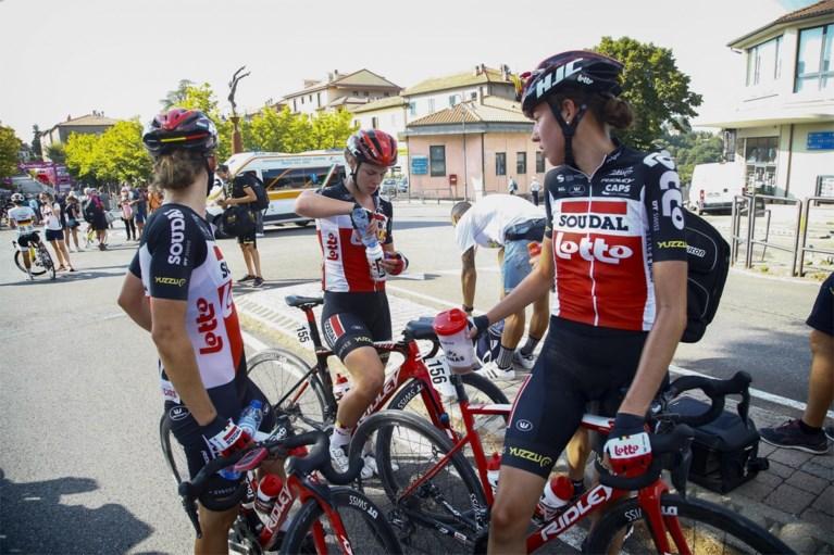 """Prijs voor Lotte Kopecky in Giro Rosa, Belgische vertrekt bij Lotto-Soudal<B>: """"Eindelijk die grote overwinning""""</B>"""