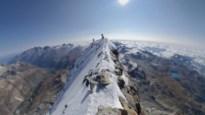 Bergbeklimmer maakt adembenemende beelden op top van de Matterhorn
