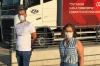 Syrische vluchteling kan na vijf jaar eindelijk aan de slag als vrachtwagenchauffeur