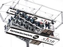 PXL geeft eerste les op 50 meter hoogte