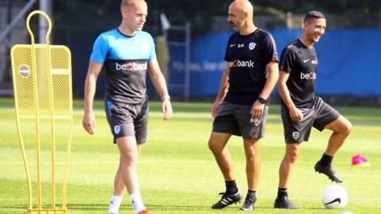 Trainer voor één match Olivieri wil dat zijn spelers lef tonen