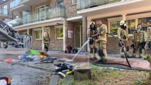 Appartement tijdelijk onbewoonbaar na brand in Waterschei