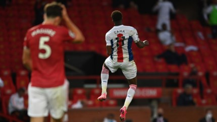 Crystal Palace verrast op Old Trafford