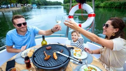 GETEST. Barbecueën op het Kempens Kanaal