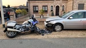Bestuurder (31) die vluchtte en politiemotard aanreed, is gevonden