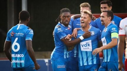 AA Gent pakt de volle buit op Le Canonnier