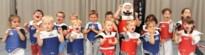 Beringse taekwondo-kleuters weer vol in actie