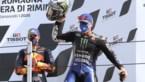 Zege voor Maverick Vinales in MotoGP van Emilia-Romagna, Barry Baltus buiten de punten in de Moto3