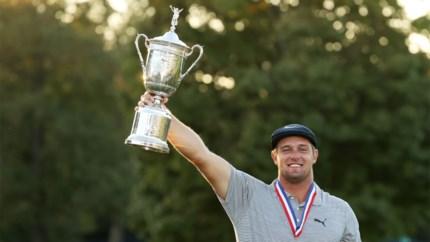 Golfende Hulk wint US Open