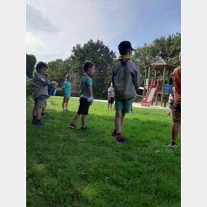 150 leden Scouting Reynaert genieten van startdag