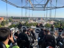 PXL start academiejaar op 50 meter hoogte