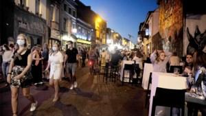 Gentse Overpoort loopt na zes maanden meteen overvol: politie moet ingrijpen