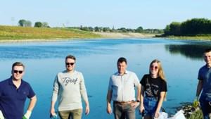 Jongeren zorgen voor propere Maasboorden