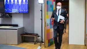 Charles Michel in quarantaine na contact met coronapatiënt, Europese top een week uitgesteld