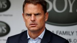 Frank de Boer is nieuwe bondscoach van Nederland