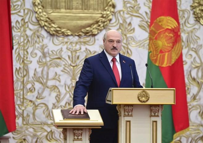 Europa erkent Loekasjenko niet als president Wit-Rusland