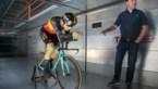 Levensgrote Van Aert in Eindhovense windtunnel