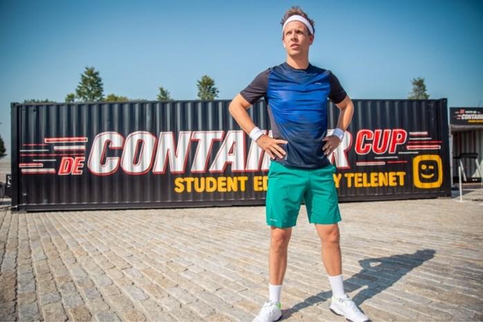 """James Cooke waagt zich aan de 'Container Cup': """"Maar allee! Ik zit recht in dat holleke"""""""