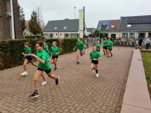 Coronaveldloop in basisschool De Boomhut