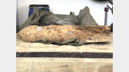 Duitse bom uit WO II ontdekt tijdens graafwerken in Vroenhoven