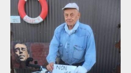 Lommelaar Jef van Limbergen (85) fietst van de kust naar Limburg