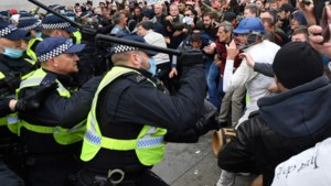 Incidenten in Londen tussen betogers en politie bij protesten tegen coronamaatregelen