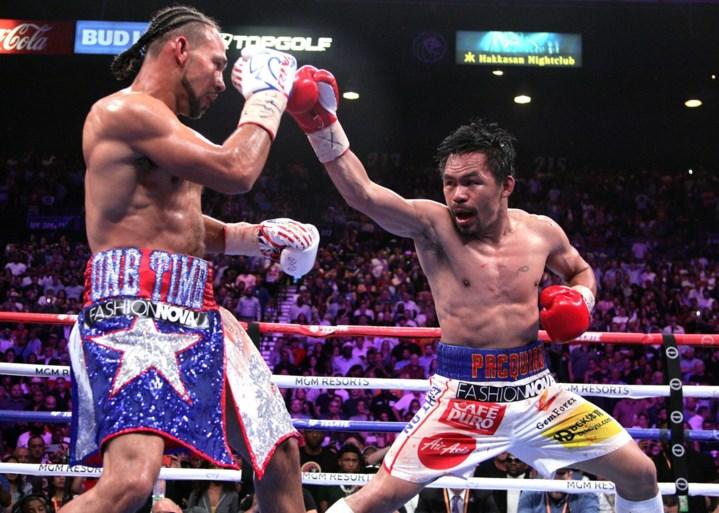 """Pacquiao en McGregor maken zich op voor """"episch boksduel"""" in Midden-Oosten"""
