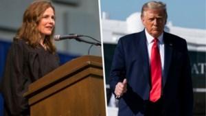 Trump draagt conservatieve Amy Coney Barrett voor als nieuwe opperrechter