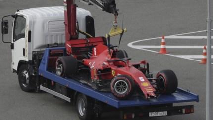Lewis Hamilton verovert polepositie GP van Rusland, zware crash Sebastian Vettel