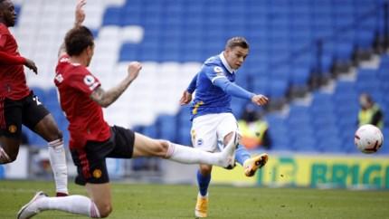 Voor het eerst sinds Ronaldo: pechvogel Trossard raakt drie keer het doelhout tegen Man United