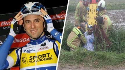 "Edward Planckaert aangereden tijdens training: ""Chauffeur liet hem in de gracht liggen"""
