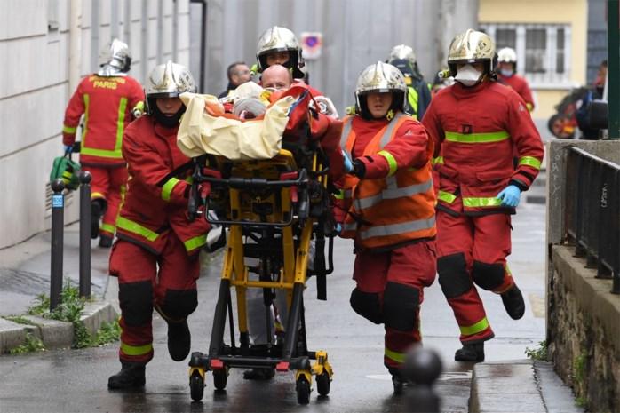 Mesaanval in Parijs is daad van terreur, in totaal acht arrestaties