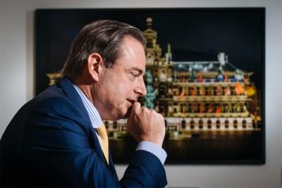 """Bart De Wever over de politieke toekomst: """"Misschien moeten we kiessysteem omvormen"""""""