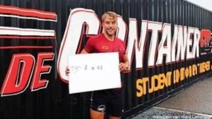 PXL-student Ward Lemmelijn verpulvert toptijd van Van der Poel in 'De Container Cup'