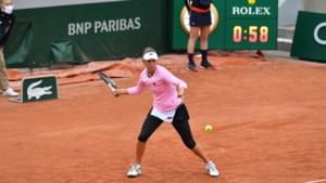 Elise Mertens stoot ondanks regenpauze vlot door naar tweede ronde Roland Garros