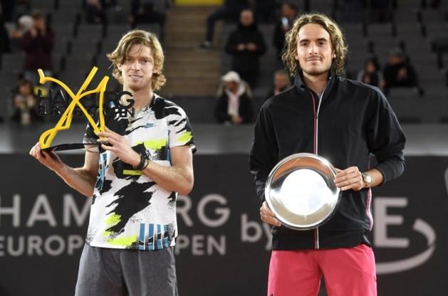 Rublev steekt eindzege ATP Hamburg op zak na winst tegen Tsitsipas
