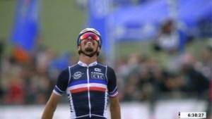 Opnieuw zilver voor Van Aert: beresterke Alaphilippe kroont zich tot wereldkampioen